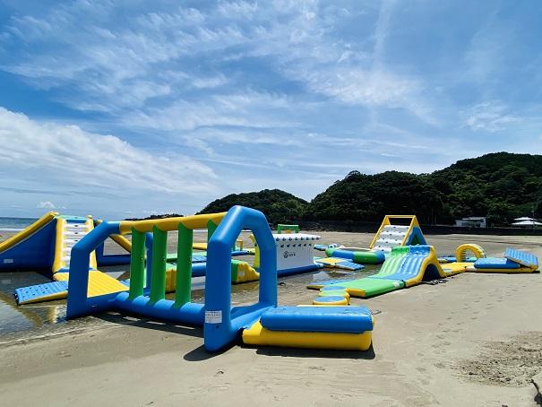 白浜海水浴場 ビーチホッピング全体