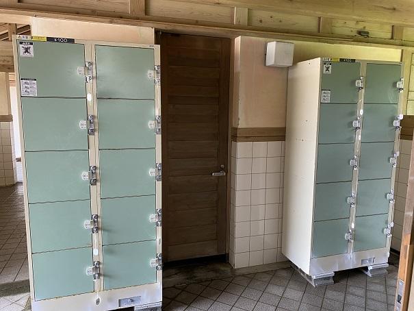 白浜海水浴場 コインロッカー