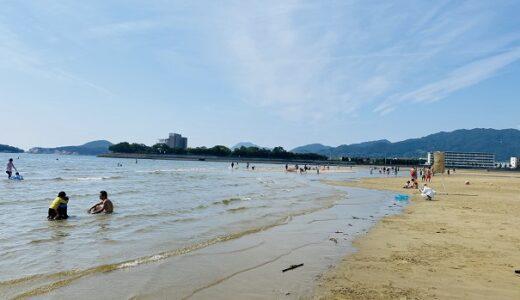 父母ヶ浜海水浴場 遠浅で砂浜がキレイなビーチ 三豊市