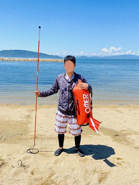 SPEAR SEALS スピアシールズ銛3ピース 205cm