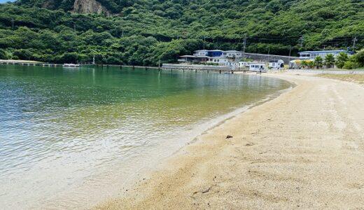 吉田キャンプ場 海水浴も楽しめシャワーやトイレ有 小豆島