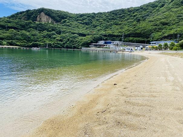 吉田キャンプ場 海水浴
