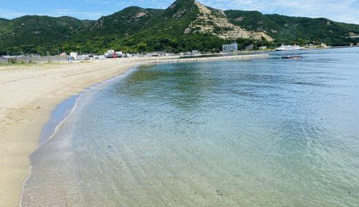 遠手浜海水浴場 無料のシャワートイレ完備の穴場 小豆島