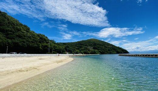 瀬戸の浜海水浴場 小豆島で一番透明度が高いビーチ