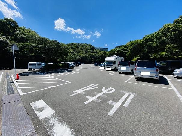 休暇村瀬戸内東予 駐車場