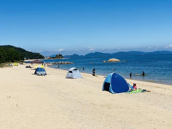 休暇村瀬戸内東予 桜井海岸