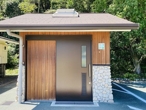 休暇村瀬戸内東予 キャンプ場障害者トイレ