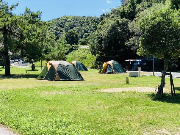 休暇村瀬戸内東予 キャンプサイト