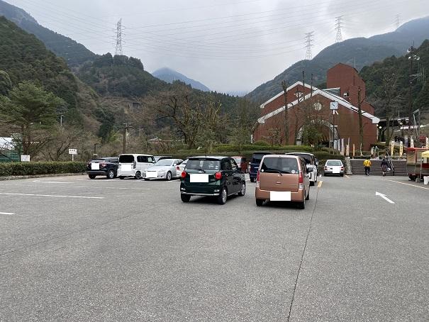 マイントピア別子 駐車場