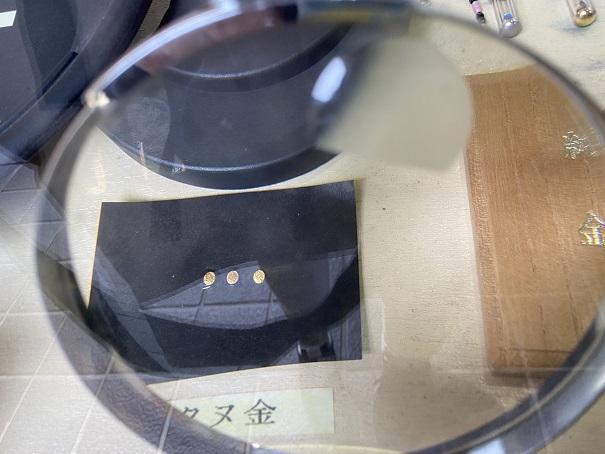 マイントピア別子 砂金採り体験 タヌ金
