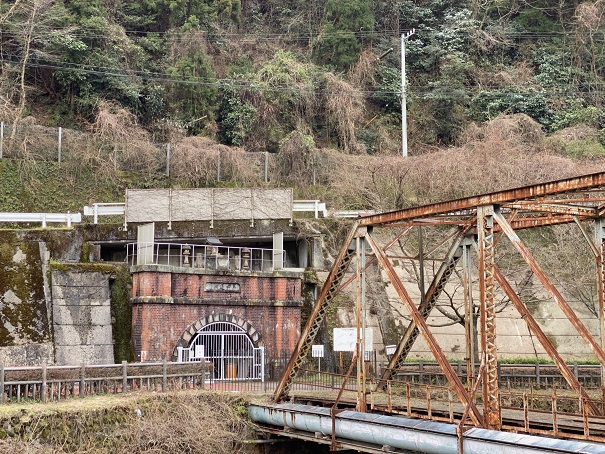 マイントピア別子 第四通洞と橋
