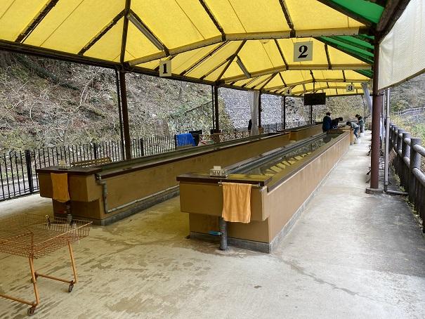 マイントピア別子 砂金採り体験施設