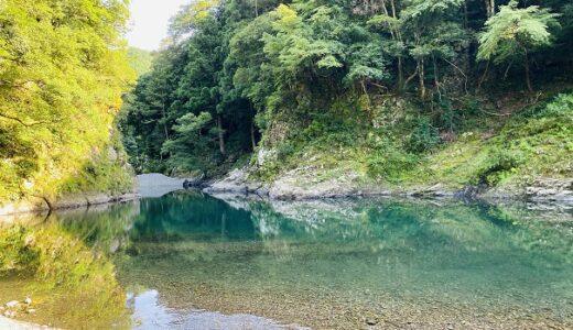 赤松川弁天の川遊びスポット 那賀川の支流の清流 美波町