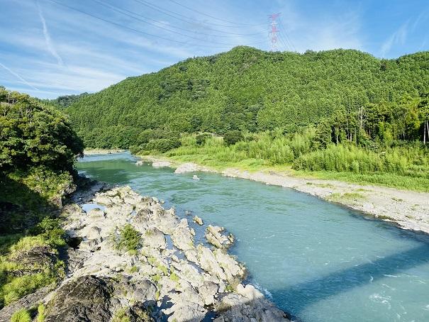 大雨から2~3日間は川が増水する