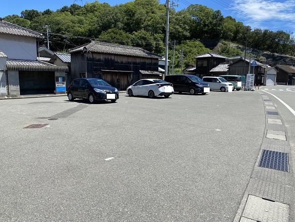 岬の分教場 駐車場