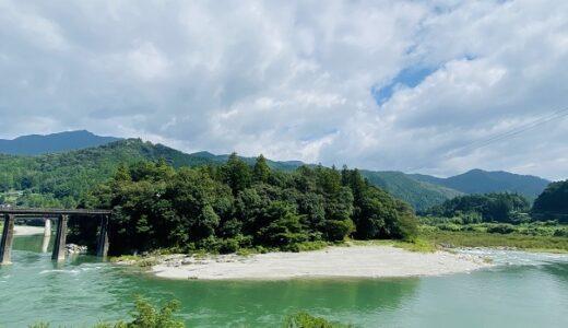 帰全山公園キャンプ場 無料で利用 吉野川は遊泳禁止 本山町