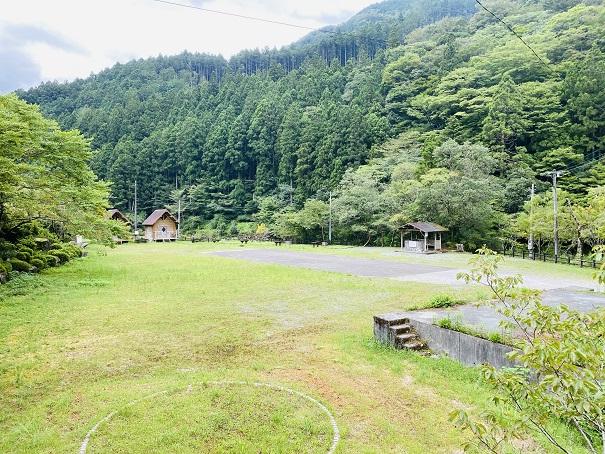 白髪山ふれあいの村 キャンプ場