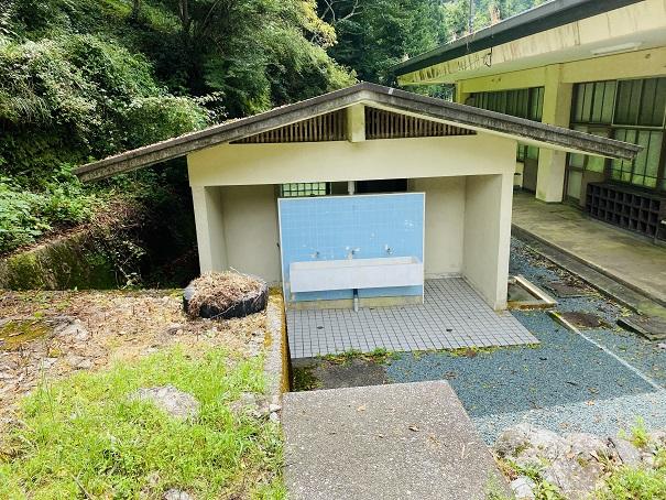 白髪山ふれあいの村休養センター トイレ
