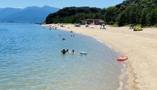休暇村瀬戸内東予海水浴場 桜井海岸とキャンプ場 西条市