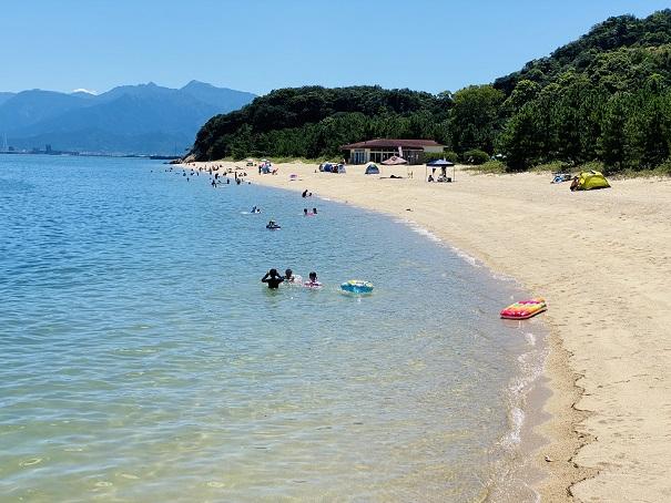 休暇村瀬戸内東予海水浴場