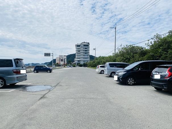 大毛海岸海水浴場 駐車場