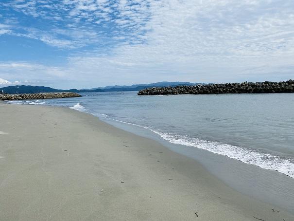大毛海岸 海水浴場