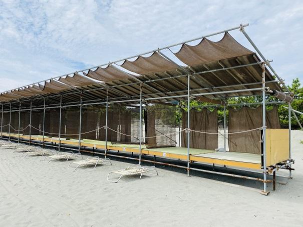 アオアヲナルトリゾート 桟敷