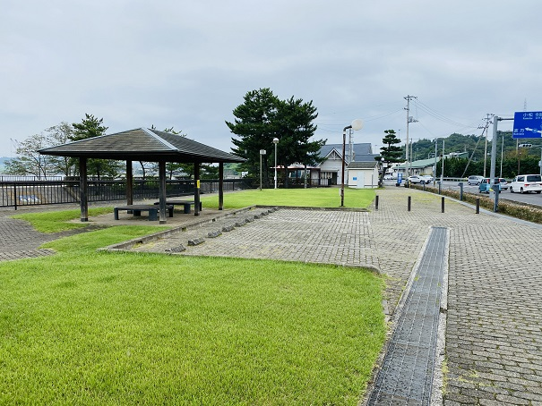 星の浦海浜公園 トイレ近くの駐車場