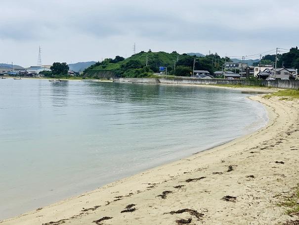 星の浦海浜公園 海水浴場