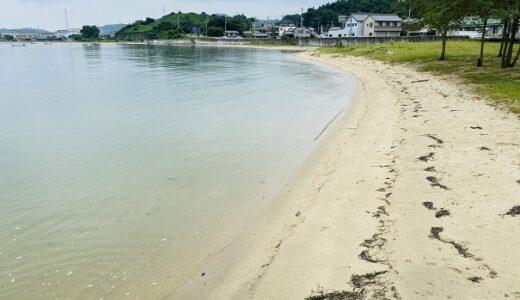 星の浦海浜公園 美しい砂浜の遠浅の海水浴場 今治市
