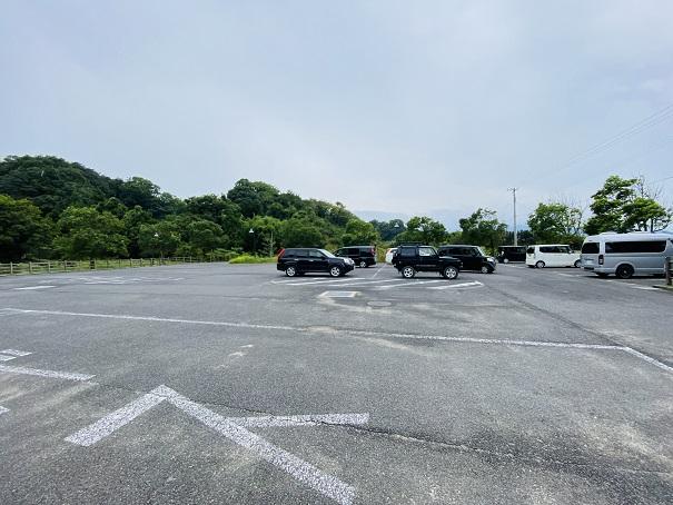 鴨池海岸公園キャンプ場 駐車場