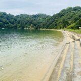 鴨池海岸公園キャンプ場海水浴場
