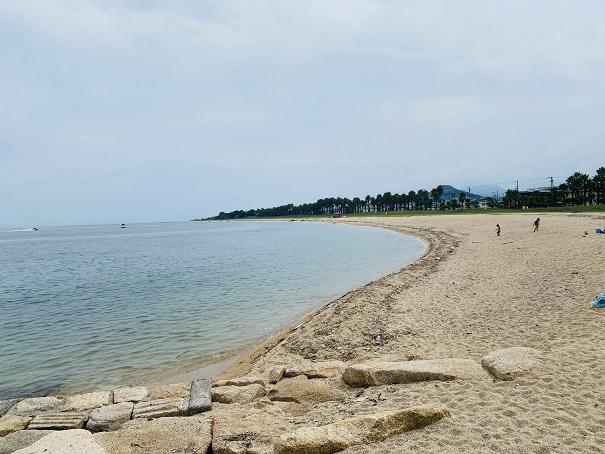 織田ヶ浜海水浴場