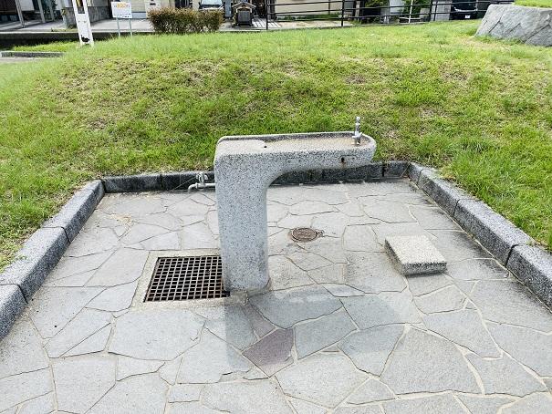 織田ヶ浜海水浴場 足洗い場