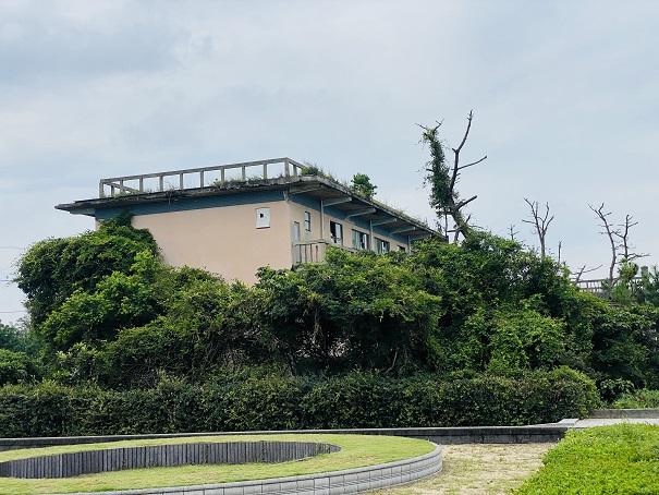 志島ヶ原 廃墟