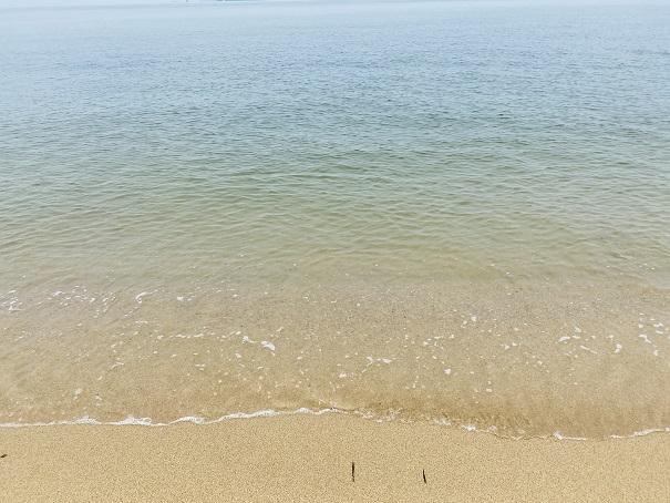 志島ヶ原海岸公園 海水