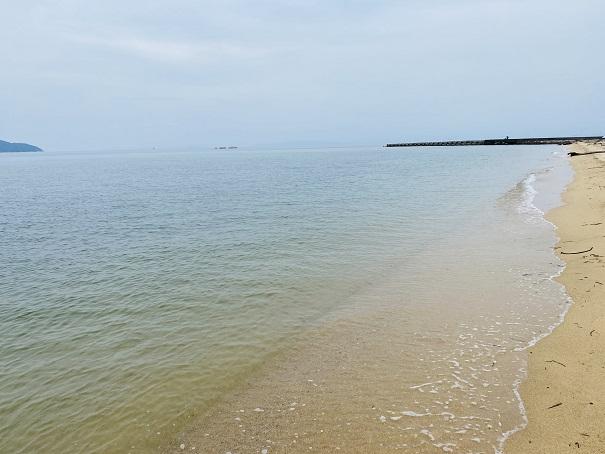 志島ヶ原海岸公園 海水浴場
