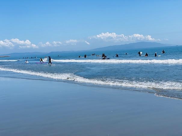 小松海岸 サーフィン