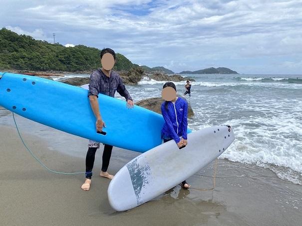 サーフィンスクール初体験