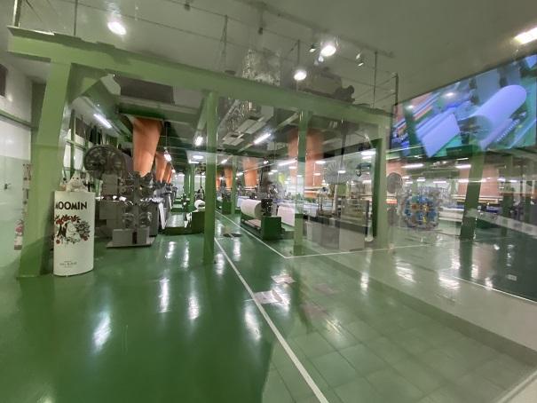 タオル美術館 工場見学2