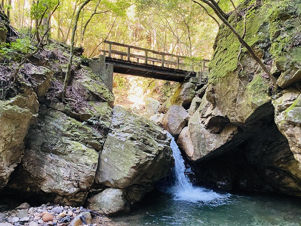 薬師谷渓谷 萬代の滝