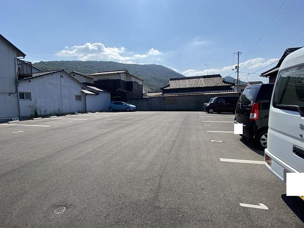 cafe悠花 駐車場2