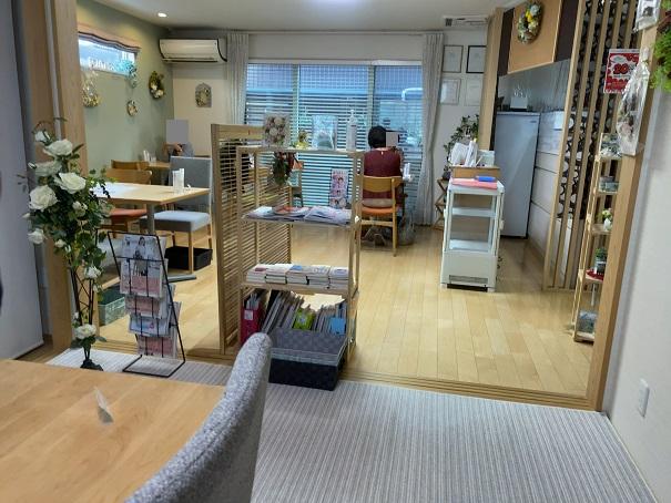 cafe悠花 店内