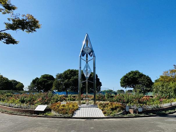 伊予三島運動公園 時計台