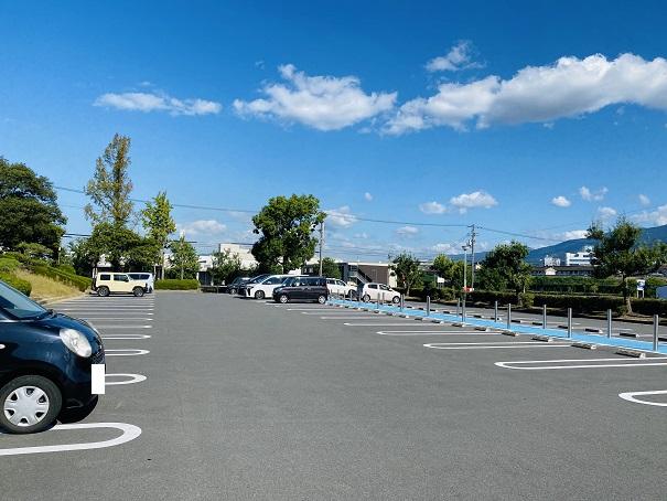 伊予三島運動公園 東駐車場
